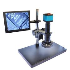 14MP HDMI USB 2 Output Industry Microscope Camera with C-mount Zoom Lens