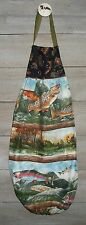 Cutthoart Rainbow Trout Lake Grocery Bag Rag Sock Holder Organizer HCF&D