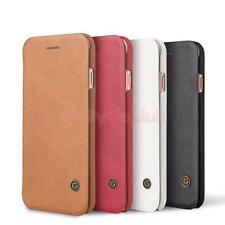 Luxury PU Leather Wallet Case Magnetic Flip Cover Stand For iPhone 7