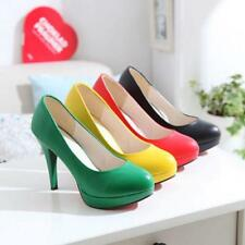 Candy Color womens party dress court shoes OL Classic office heels pumps US4.5-8