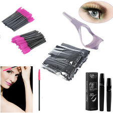 50/100 PCS Disposable Eyelash Brush Mascara Wands Applicator Spoolers Makeup WJ