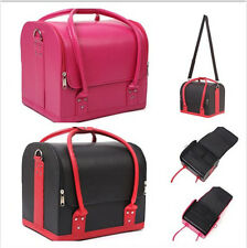 Make Up Nail Tech Train Cosmetic Box Bag Beauty Jewellery Organizer Case Storage