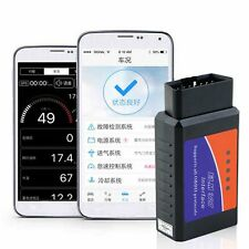 ELM327 OBD2 Car Diagnostic Scanner CAN-BUS Bluetooth for Mobile ANDROID Car QR