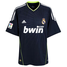 REAL MADRID FC AUTHENTIC adidas SUPPORTER AWAY JERSEY 10/11 NWT XL CLIMACOOL