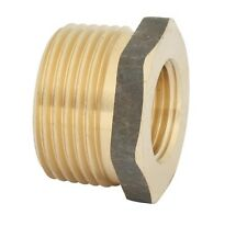 Kinetic THREADED HEX REDUCING BUSH Brass, Standards Approved - 25x 15mm Or 20mm