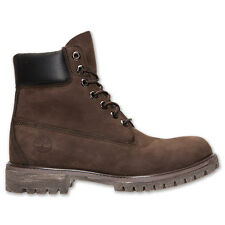 Timberland Men's 6 Inch Premium Waterproof Leather Classic Boots Shoes Brown