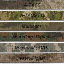 MILITARY GRADE WEBBING MIL SPEC US Military Prints Nylon 1 Inch Double Sided