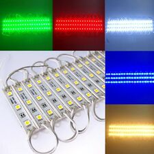20pcs 5050 3LED SMD Module Injection Decorative Waterproof LED Strip Light Lamp