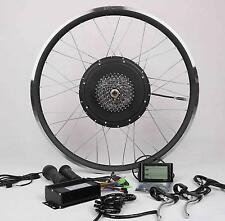 LCD+8 or 9 gear+1500W Cassette Electric Bicycle E Bike Hub Motor Conversion Kit