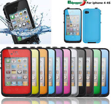 For iPhone 4 4s Redpepper Waterproof Shockproof Dirtproof Hard Case Cover Shell