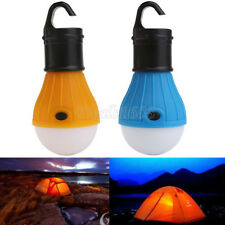 Portable Outdoor Hanging LED Lantern Camping Tent Night Light Bulb Fishing Lamp