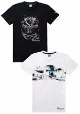 OEM GENUINE MERCEDES BENZ MEN'S HAMILTON PUMA SHIRT WHITE OR BLACK