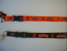 2016 MLB SAN FRANCISCO GIANTS  OFFICIAL LICENSED BREAKAWAY LANYARD KEYCHAIN