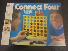 CONNECT FOUR - VERTICAL CHECKERS GAME - RARE MILTON BRADLEY 1990 - COMPLETE