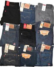 Levis 501 504 527 569 511 513 505 514 Straight Fit Men's Jeans Trousers 34 x 34