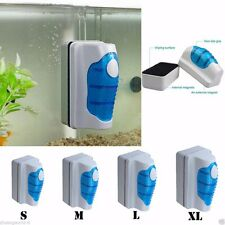 Aquarium Fish Tank Floating Magnetic Glass Cleaner Algae Brush Scrubber