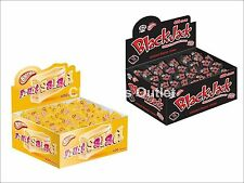 50x Fruit Salad Sweets Retro Black Jack Chews Party Bag Fillers