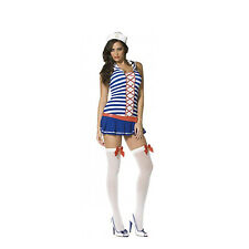 FEVER CUTE SAILOR WITH DRESS. HAT SIZE XSMALL SMALL WOMENS FANCY DRESS