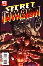 Secret Invasion #1 (2008) 9.8 nm/mt McNiven variant cover