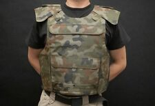 Tactical Military Vest SWAT Police ASG Combat Assault Woodland Polish Army KLV