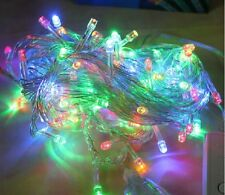 32FT 10M 100 LED Light String Colorful white For Decoration Christmas Xmas Party