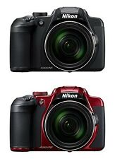 2016 New!! NIKON COOLPIX B700 20MP Optical Zoom 60x Black/Red Color Japan Import