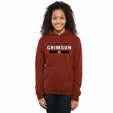 Harvard Crimson Women's Crimson Team Strong Pullover Hoodie