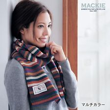MACKIE Disney Mickey Sheep  Wool Stole Scarf Made in Scotland from Japan E2729