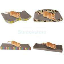 Kitten Corrugated Board Cat Scratcher Seize Scratch Pad Catnip Bed Play Toy PICK