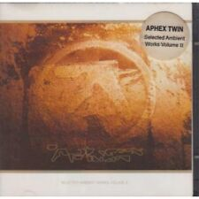 APHEX TWIN Selected Ambient Works Vol 2 CD 23 Track Double Cd Set (warpcd21) U