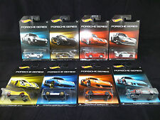 HOT WHEELS PORSCHE SERIES 2015 - ALL VARIATIONS, DIE-CAST CARS NEW ON LONG CARD