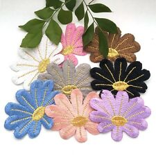 1 pcs Flower Embroidered Cloth Iron On Patch Applique #187