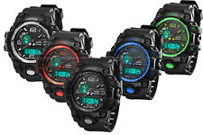 OHSEN Digital G Sport Quartz Military Army Mens Watch Date/Day Water Proof Shock