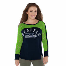 Touch by Alyssa Milano Seattle Seahawks Women's Navy Playoff T-Shirt