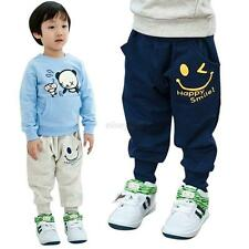 Baby Boys Girls Hip Hop Harem Pants Trousers Casual Bottoms Leggings Sweatpants