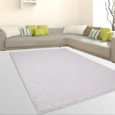 Rugs Shaggy High Pile soft Flokati Living room Inexpensive Offers White