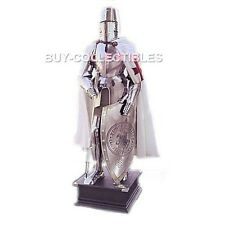 MEDIEVAL WEARABLE KNIGHT FULL SUIT 15TH CENTURY COMBAT BODY ARMOUR SUIT & STAND