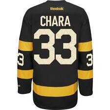 Zdeno Chara Boston Bruins Official Reebok Home Alternate Hockey Jersey NEW