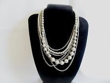 """Premier Designs Jewelry """"Mainstream"""" Silver-Plated Necklace"""