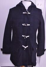 NWT Banana Republic Womens Hooded Wool Toggle Pop Duffel Coat Stadium Jacket *E8
