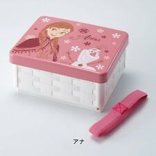 DISNEY Frozen Folding Sandwich Case Lunch Bento Box Compact Made in Japan T4261