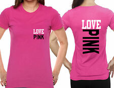 T-shirt Love Pink sweet tshirt for girls women small love pink P074