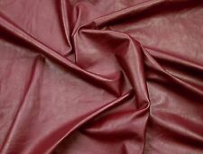 Magenta cowhide for leathercraft Small pieces. Barkers Hide & Leather Skins N269