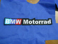 BMW MOTORRAD PATCH EMBROIDERED THERMOADHESIVE embroidery cm 29 x 5