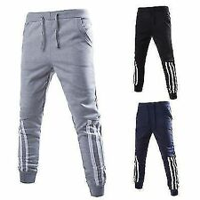Mens Boys Casual Sport Sweat Pants Athletic Jogging Tracksuit Trousers Slacks