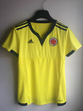 NEW $90 Adidas Women 2015/2016 Colombia HOME Soccer Jersey Size MED LARGE