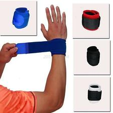 Wrist Weight Lifting Training Gym Straps Bracers Support Bodybuilding Protector