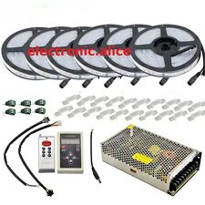 5050 RGB Dream Color 6803 IC LED Strip +IC6803 RF Remote Controll +Power adapter