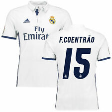 adidas F. Coentrao Real Madrid White 2016/17 Home Authentic Jersey