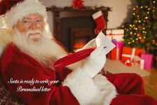 Personalised letter from Santa - Christmas magic - Xmas letters from Santa Claus